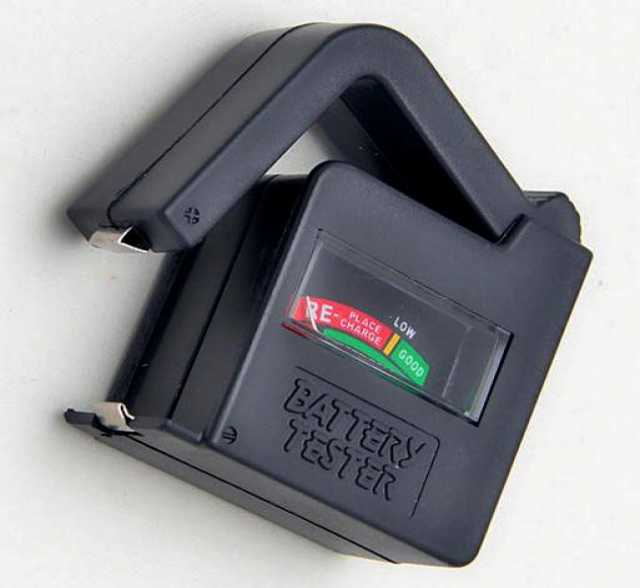Продам новый тестер заряда батареек и аккумулят