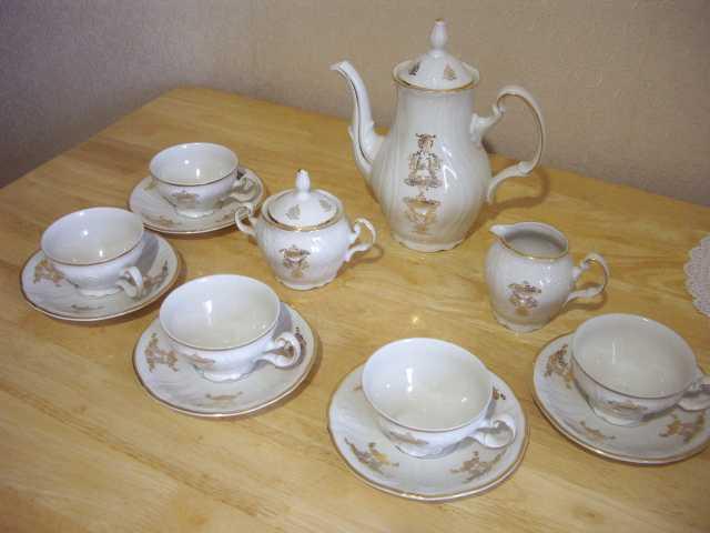 """Продам: Чайный сервис """"Bernadotte""""- Чехия 70 год"""