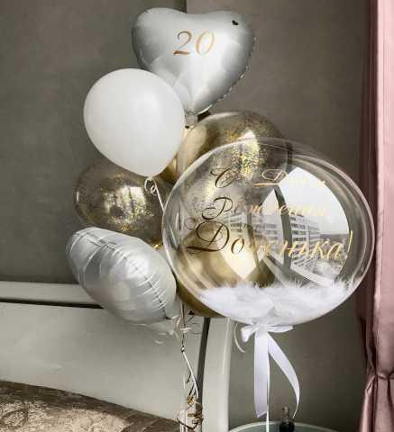 """Продам: Гелиевые шары """"Баблс"""" (Bubbles)"""