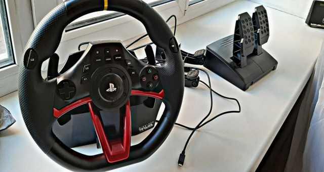 Продам: Руль Hori Wireless Racing Wheel Apex