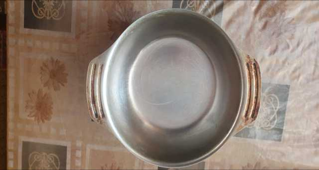 Продам: тарелка металлическая глубокая