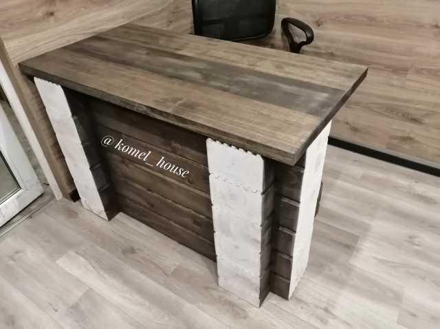 Продам: Стол рабочий из массива дерева