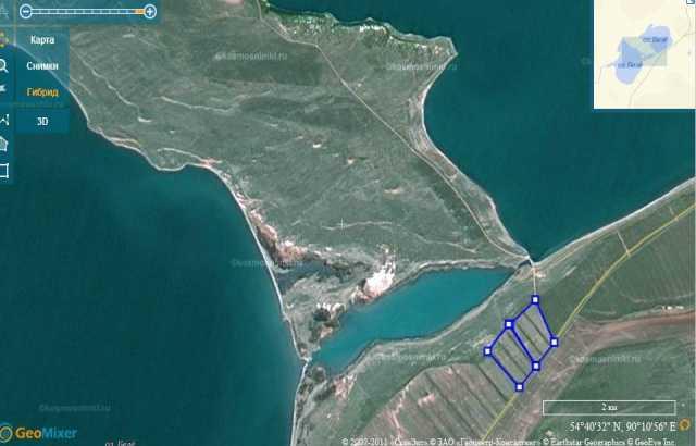 Продам: Земля на озере Белё