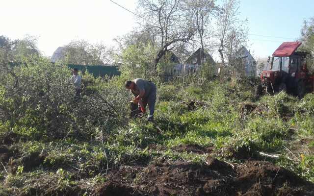 Предложение: Расчистка участков в Белгороде и области