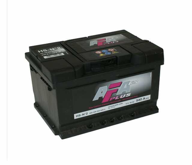 Продам: Авто аккумулятор afa plus 60 a/h