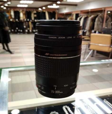 Продам Canon ef 75-300mm f/4-5.6 III usm