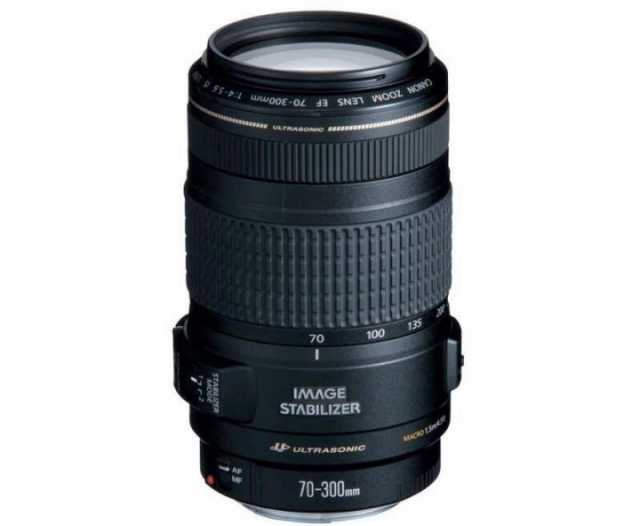 Продам Canon ef 70-300mm f/4.0-5.6 IS usm