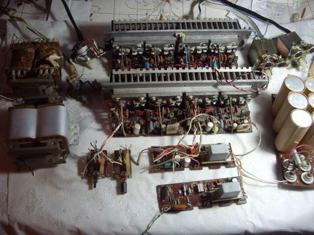 """Продам: Усилитель """"Радиотехника У-101"""" -запчасти"""