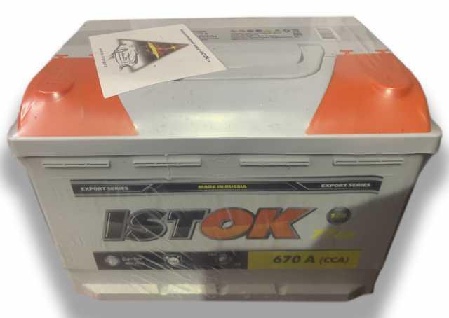 Продам: Авто аккумулятор Исток 77 a/h