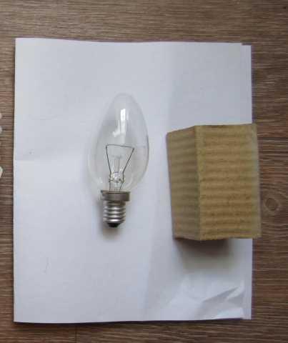 Продам: Лампа накаливания 1 шт, цоколь E14, нов