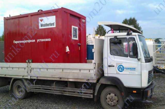 Продам: парогенераторная установка