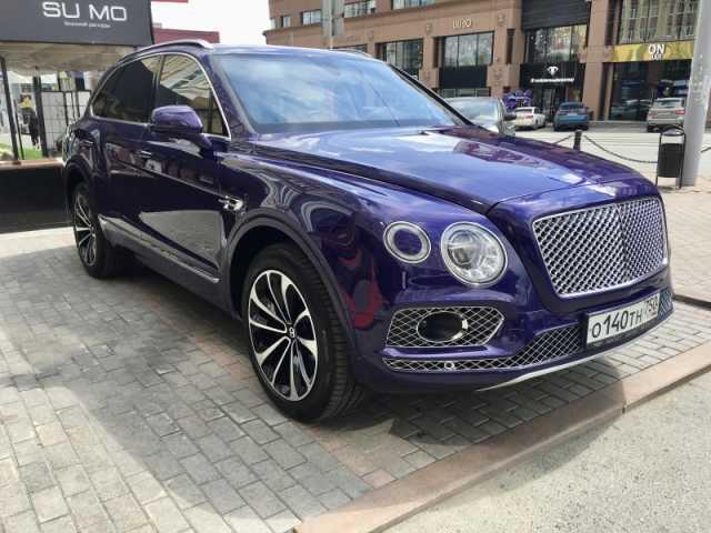 Продам: Bentley Бентайга, 2016 г декабрь