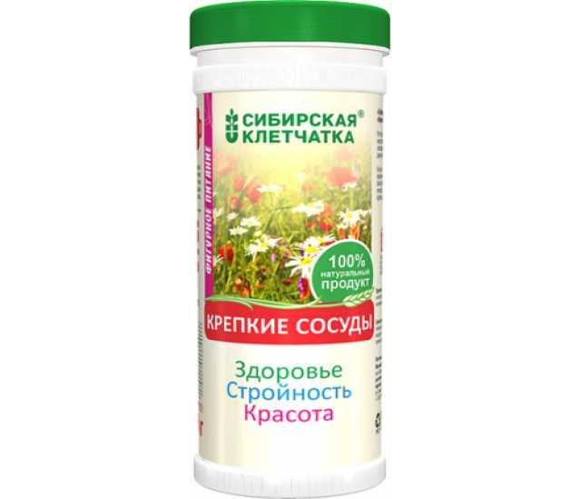 Продам: Сибирская клетчатка «Крепкие сосуды»