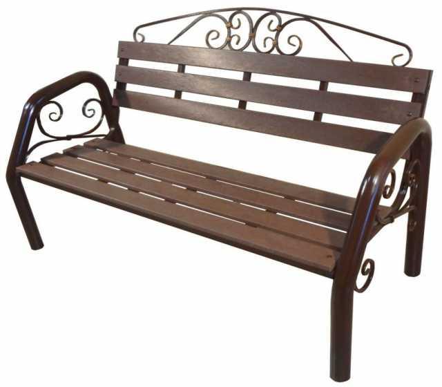 Продам: Скамья садово-парковая с ковкой