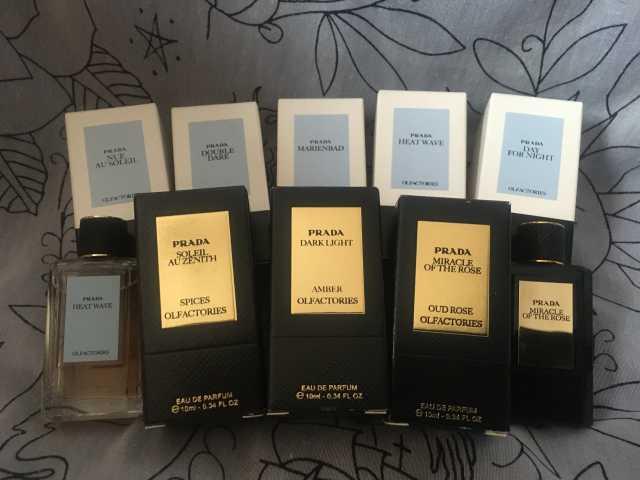 Продам: Миниатюры парфюмы разные бренды, Прада