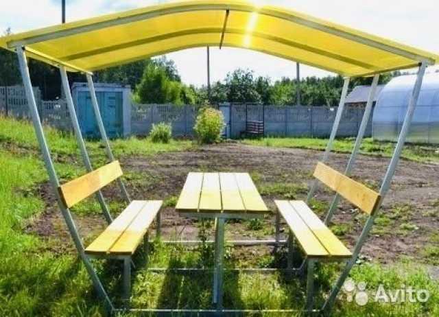 Продам: Беседки с лавочками и столиком