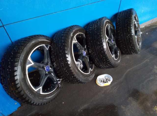 Продам: шипованные колеса