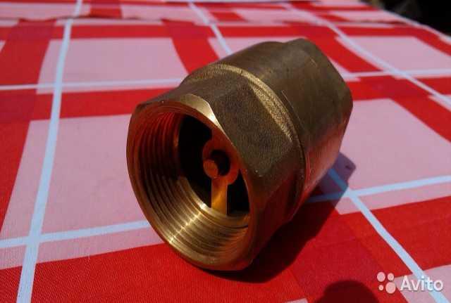 """Продам: Обратный клапан 1"""", латунь"""
