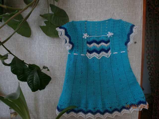Продам: Два вязанных из хлопка платья