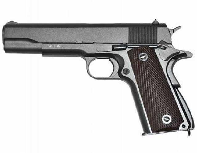 Продам: страйкбольный пистолет kwc m1911 soft a
