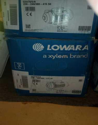 Продам: насос Lowara CEA70/5/A 220-240/380-415 5