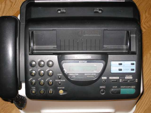 Продам: Телефон/факс PANASONIC KX-FT22