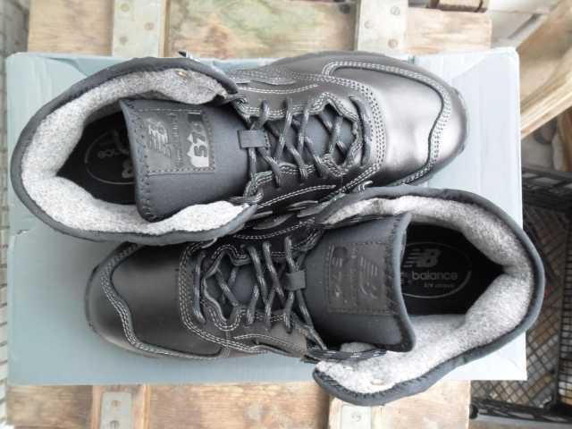 Продам: Чёрные кожаные кроссовки New Balance 574