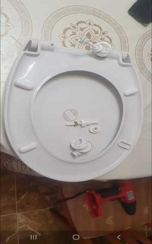 Продам: круг сиденье для унитаза фирма santeri