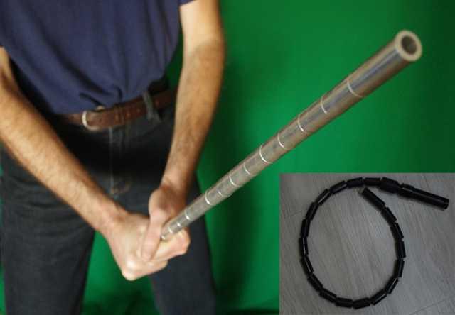 Продам: Складную трость-пояс для самообороны