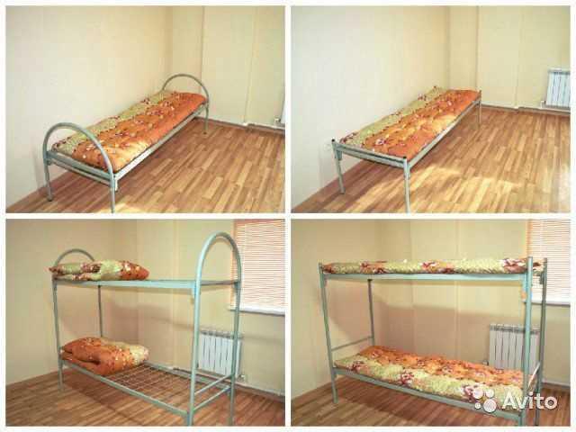 Продам: Кровати для строителей, металлические
