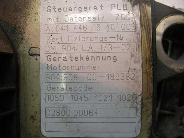 Продам: Блок управления Mercedes 0414461640