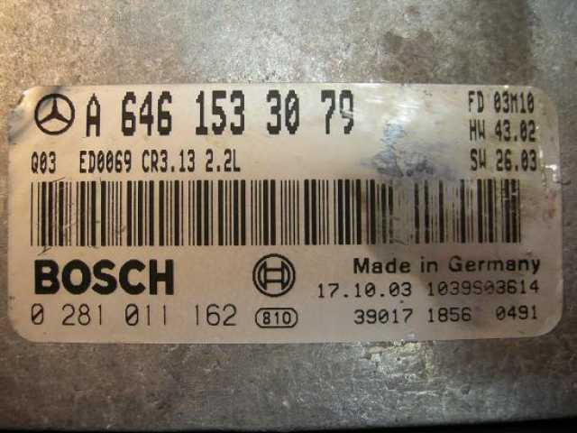 Продам: Блок управления Mercedes 6461533079