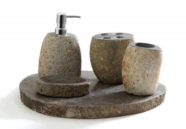 Продам: Набор для ванной из речного камня