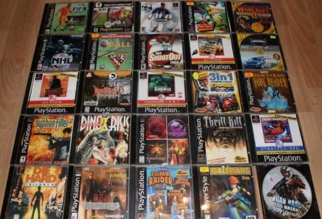 Продам: Игры для Sony Playstation 1
