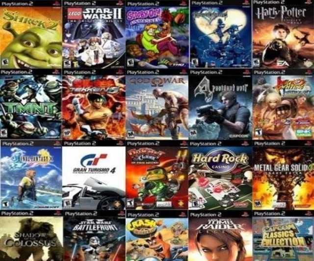 Продам: Игры для Sony Playstation 2