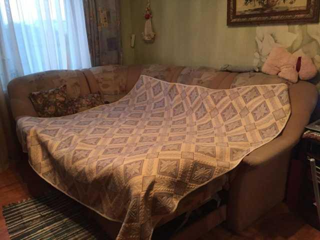 Отдам даром: Диван-кровать угловой