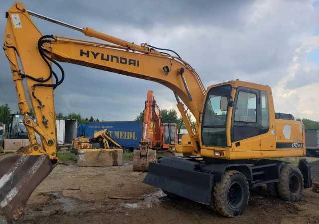 Продам: Продам колесный экскаватор Hyundai R170