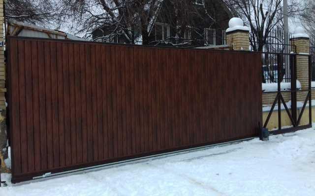 Продам: Откатные ворота под ключ в Ростове-на-До