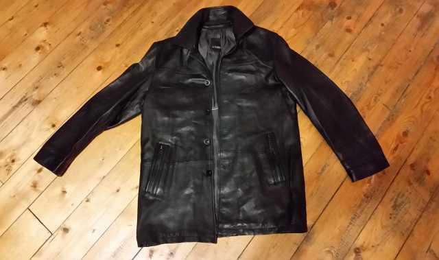 Продам: Кожаная Куртка AL FranCo (46-48) M