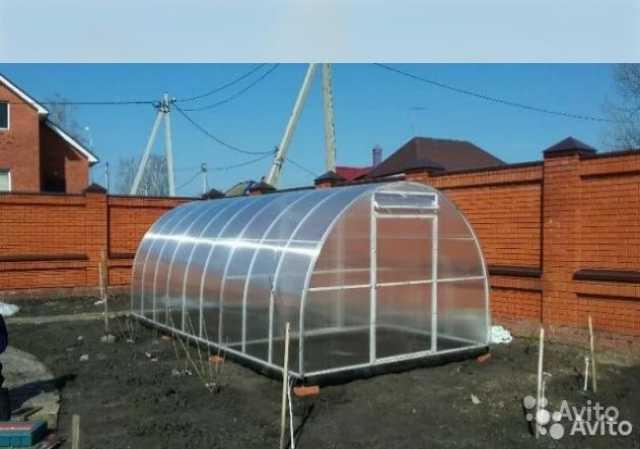 Продам: Теплицы с поликарбонатом с УФ защитой