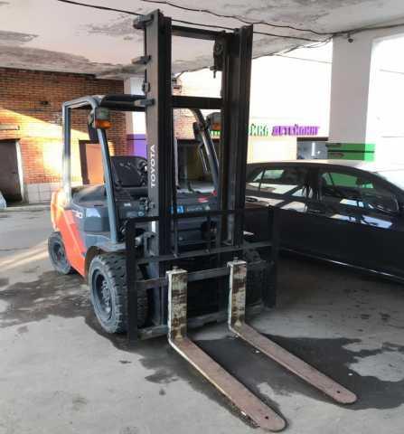 Продам: Тойота вилочный погрузчик бензиновый Япо