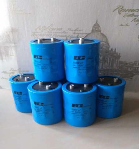 Продам: 33000 mkF 100V электролиты philips**