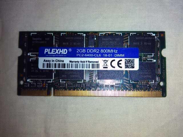 Продам: DDR2 2GB для ноутбука