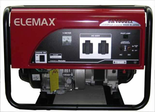 Продам: Бензогенераторы Elemax SH 4600EX-R