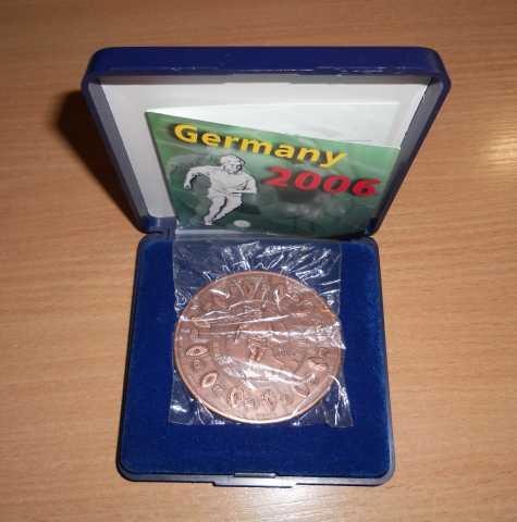 Продам: 5 долларов 2006 Либерия, футбол