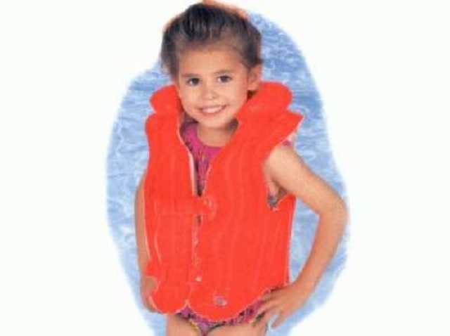 Продам: Надувной жилет для плавания оранжевый