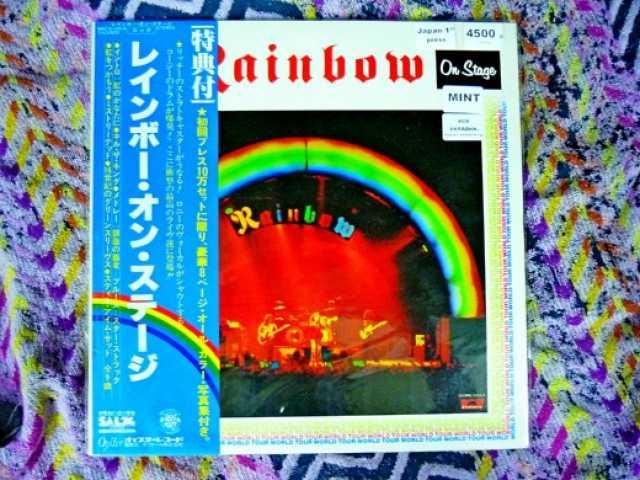 Продам: Rainbow – On Stage 2 LP Japan 1st press