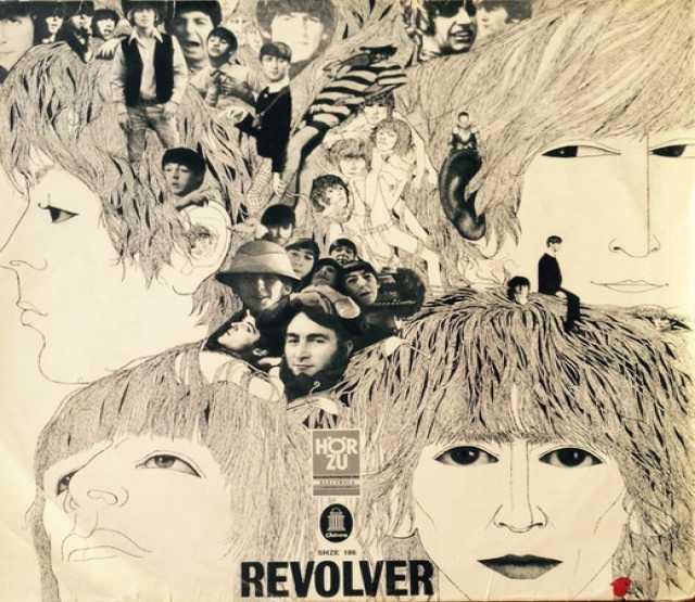 Продам: The Beatles – Revolver LP Germany 1966 E