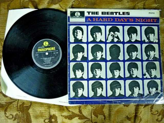 Продам: The Beatles – A Hard Day's Night Parloph