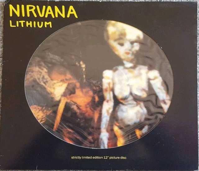 Продам: Nirvana – Lithium DGC – DGCTP 9 Vinyl, 1
